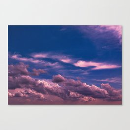 Clouds 16 Canvas Print