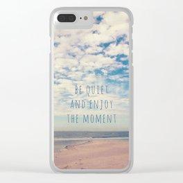Amrum Moments II Clear iPhone Case