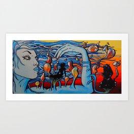 Floating Dreams Art Print