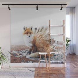 Crystal Fox Wall Mural