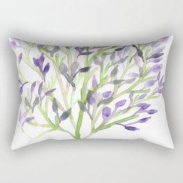 Watercolour Tree 1 |Modern Watercolor Art | Abstract Watercolors Rectangular Pillow