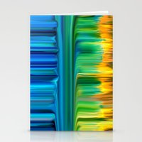 waterfall Stationery Cards featuring Waterfall by Bruce Stanfield