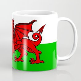 Wales Rugby Flag Coffee Mug