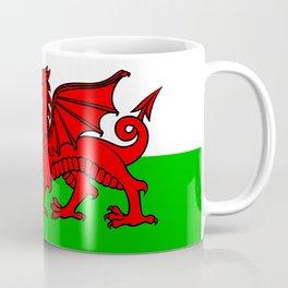Wales Rugby Flag Coffee Mug