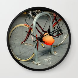 Inner City Schwinn Suburban Wall Clock