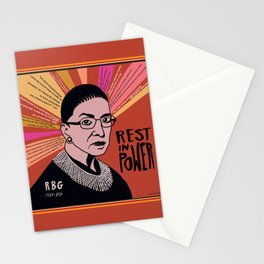 RBG Rest in Power Stationery Cards