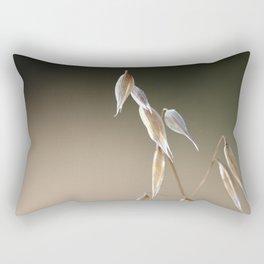 Fruiting Wild Oat Rectangular Pillow