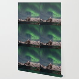 Northern Lights Over Lofoten Wallpaper