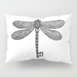 The Dragonfly Key Pillow Sham