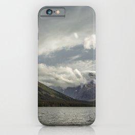 Breakthrough at Lake Josephine iPhone Case