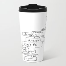anxiety tower Metal Travel Mug