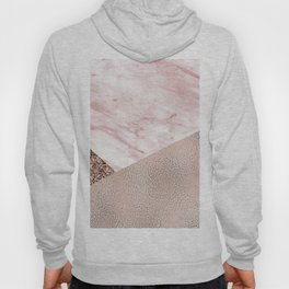 Cotton candy dreams - rose gold Hoody