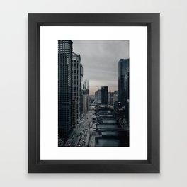 Chicago Riverwalk Framed Art Print
