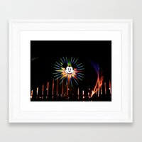 mickey Framed Art Prints featuring Mickey  by AuFish92024