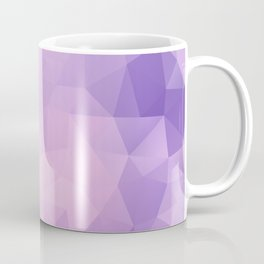 Triangles design in pink and purple colors Coffee Mug