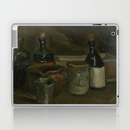 Still Life with Bottles and Earthenware Laptop & iPad Skin