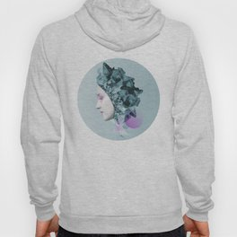 Faces Blue 01 Hoody