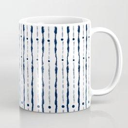Stripes Indigo Coffee Mug