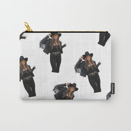 Vintage Cowgirl Carry-All Pouch