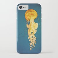 jellyfish iPhone & iPod Cases featuring Jellyfish by Retro Love Photography