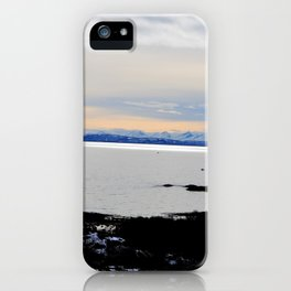 Solnedgang iPhone Case