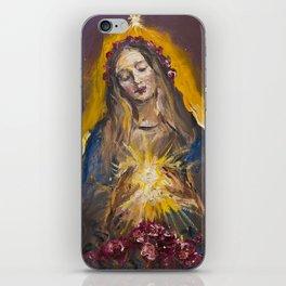 The Mystic Rose iPhone Skin