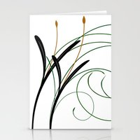 grass Stationery Cards featuring Grass by DistinctyDesign