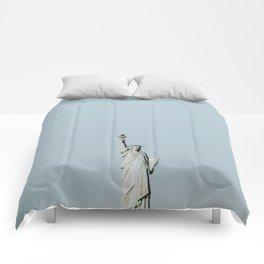 New York City VI  / Statue of Liberty Comforters