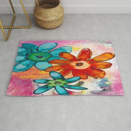 THE BRIGHTEST FLORAL Rug