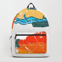 Kitesurfing Board Gift Beach Wave Kite surf wind Shirt Backpack