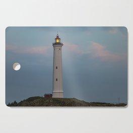 Lighthouse Sunset Landscape Cutting Board
