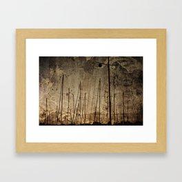 that ship has sailed Framed Art Print