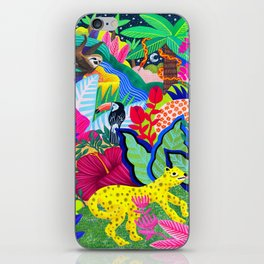 Jungle Party Animals iPhone Skin