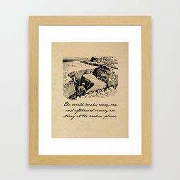 A Farewell to Arms - Hemingway Framed Art Print