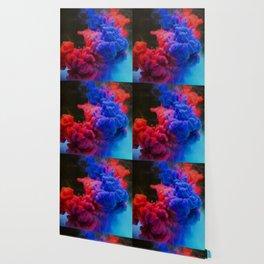 Colorful Smoke Screen Wallpaper