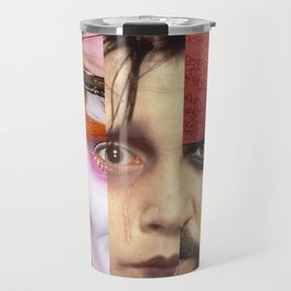 Faces Johnny Depp Travel Mug