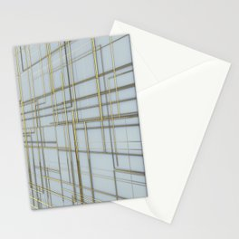 Golden Lines Stationery Cards
