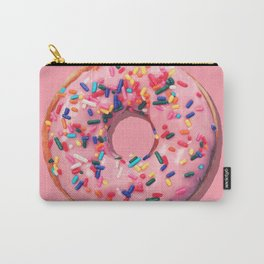 Pink Donut Carry-All Pouch
