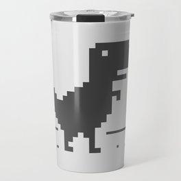 Google Chrome's Dino Travel Mug