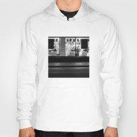 edinburgh Hoodies featuring Shop window Edinburgh by RMK Creative
