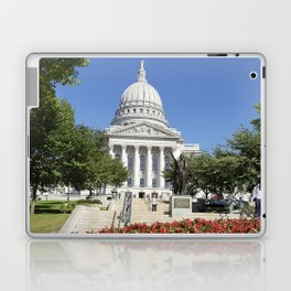 Capitol Building Madison Wisconsin from State Street Laptop & iPad Skin
