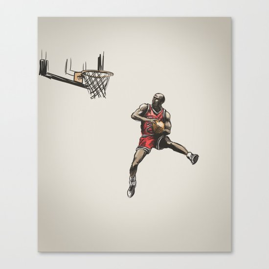 MJ50 Canvas Print