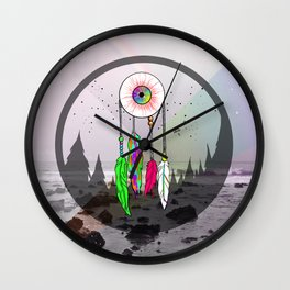 Reckless Closure Wall Clock
