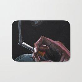 Smoking Bath Mat