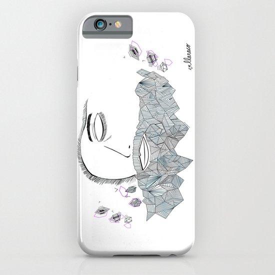 Geometric beard iPhone & iPod Case