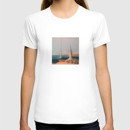 Water Funnel under Blue Skies (Africa, Bay of Luanda) T-shirt