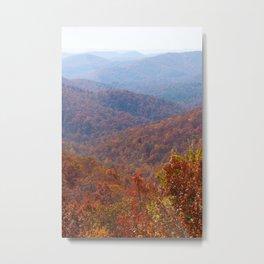 North Carolina Mountains Metal Print