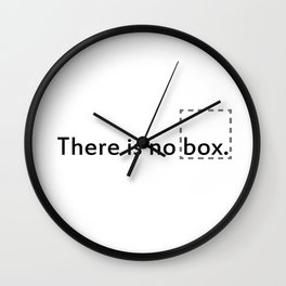 No box Wall Clock
