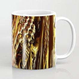 Metallic Fractal Landscape Coffee Mug