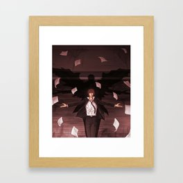 Light Yagami Framed Art Print
